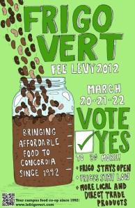 Frigo Vert Vote Yes